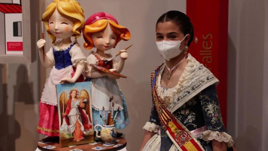 Una obra de Ceballos y Sanabria protagoniza la clausura de la exposición del ninot infantil