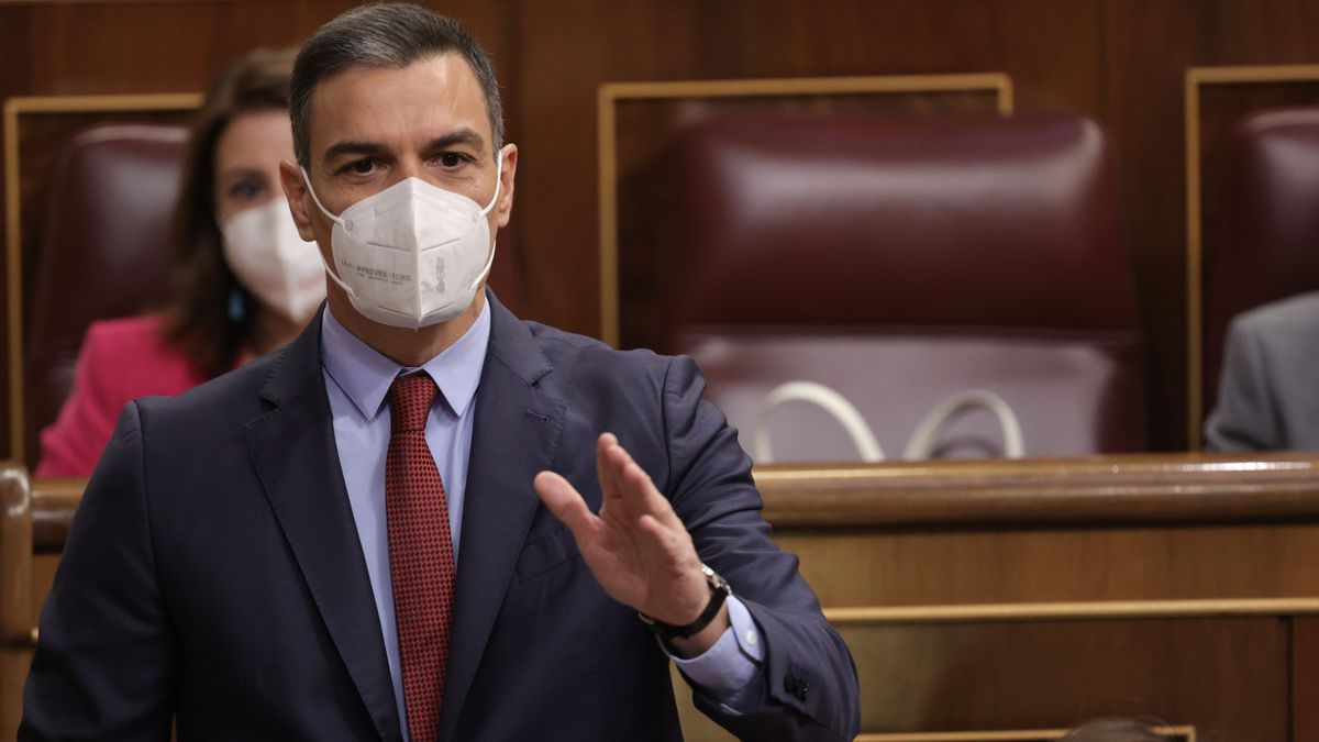 The President of the Government, Pedro Sánchez, in the Congress of Deputies