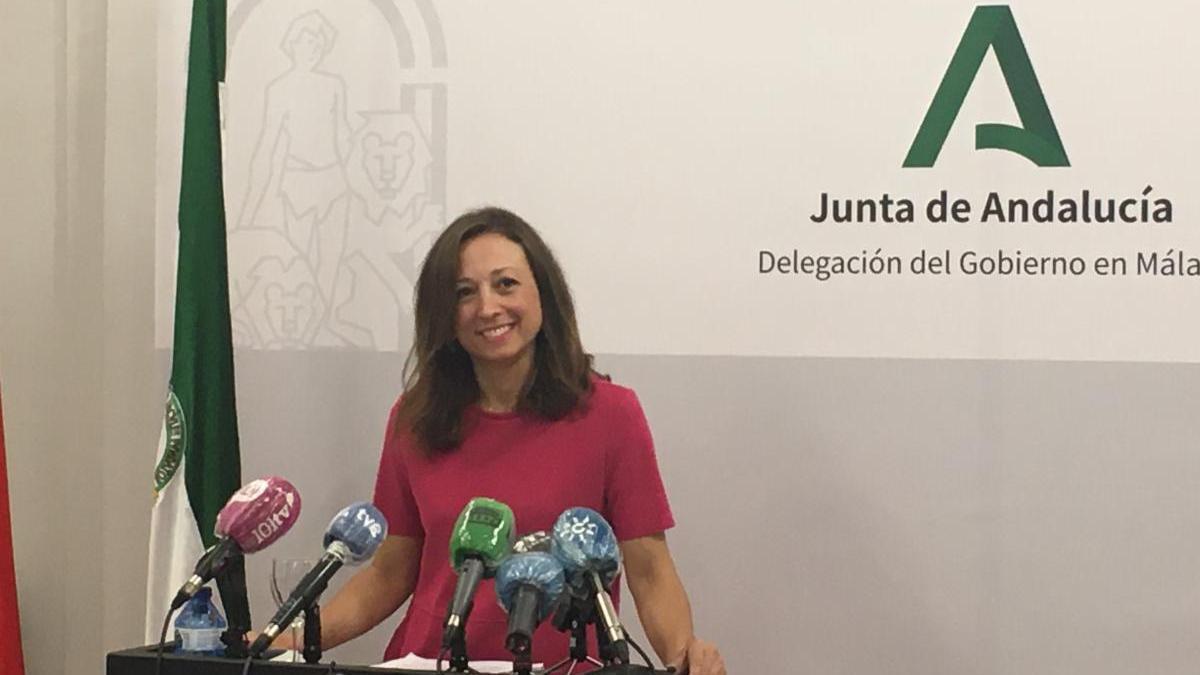 La delegada del Gobierno andaluz en Málaga, Patricia Navarro
