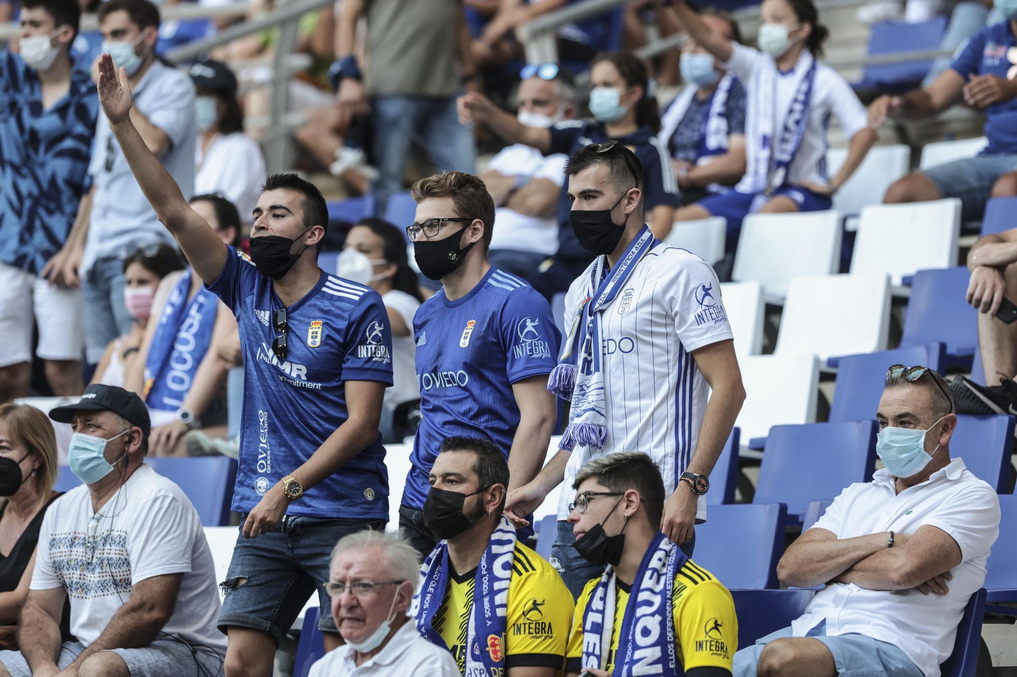 Así fue la victoria del Real Oviedo en el Tartiere