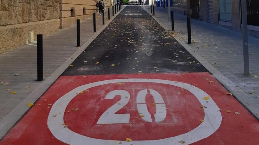 Les obres del carrer Muntaner de Figueres finalitzen abans del previst