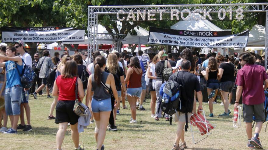 El Canet Rock obre portes i ja supera en edicions el mític festival dels anys 70