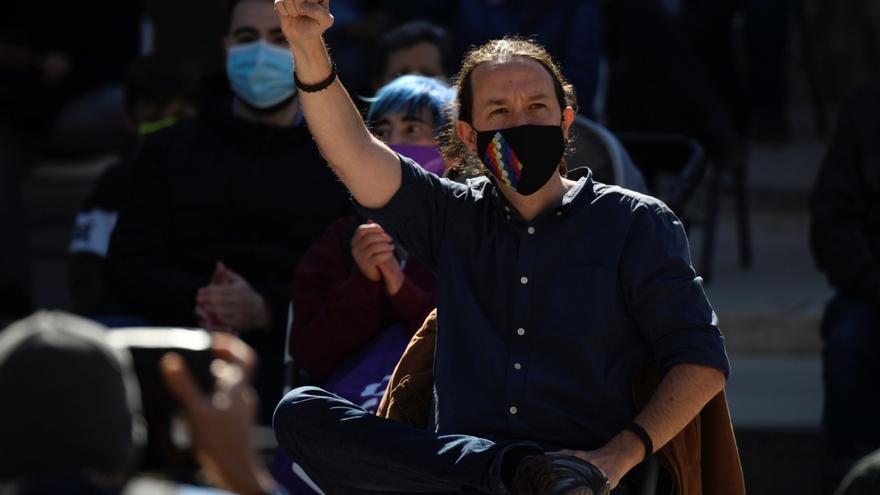 """Unidas Podemos arranca su campaña sobre el lema """"Que hable la mayoría"""""""
