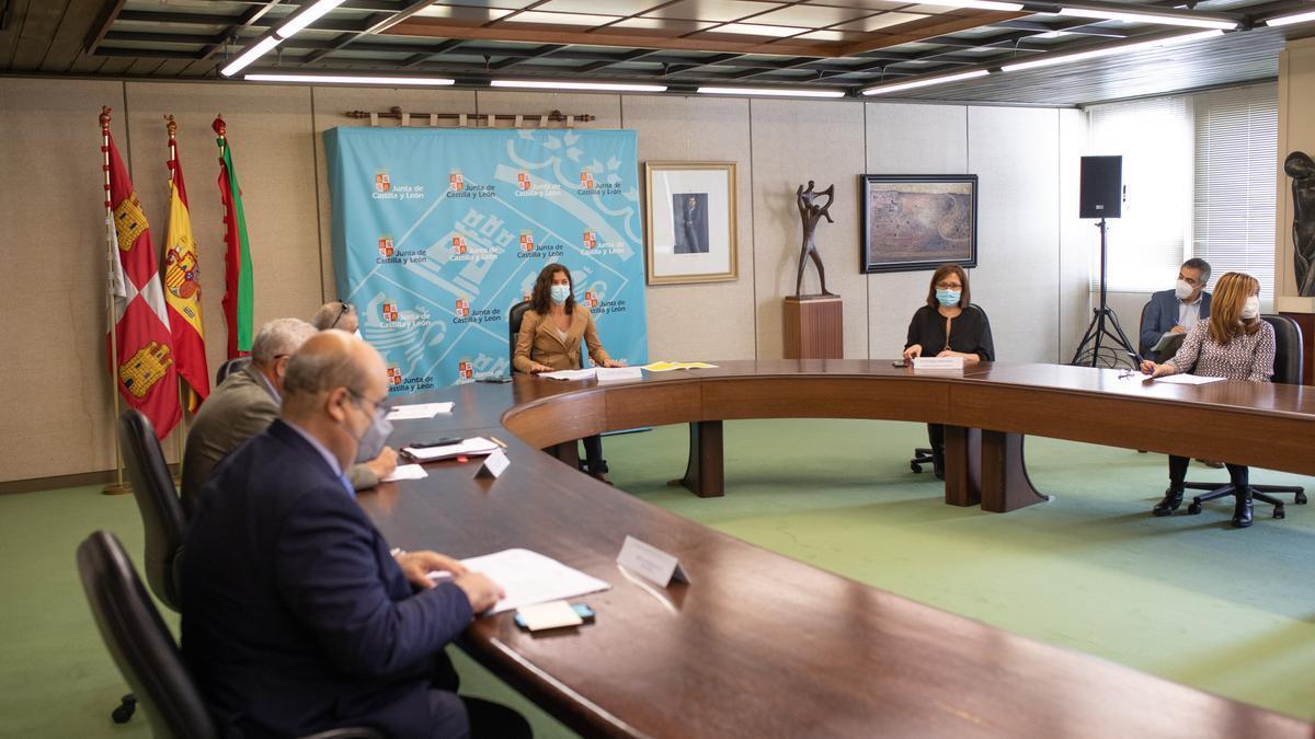 Comisión de Coordinación de la Junta de Castilla y León en Zamora