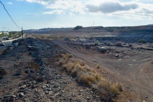 Tarajalillo: terrenos entre la GC-500 y la GC-1, a la entrada de Bahía Feliz