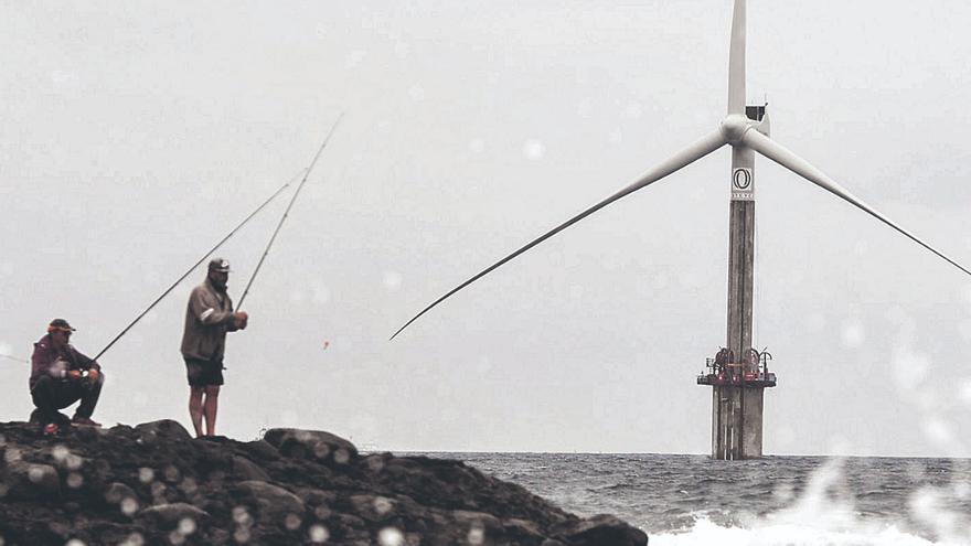 El sureste de Gran Canaria es la mina de oro de la energía eólica marina