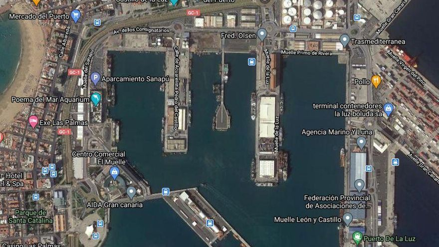 Moren tres mariners en l'incendi d'un vaixell a Gran Canària