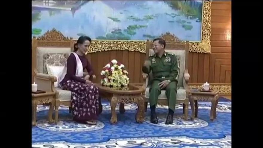 El ejército de Birmania toma el control del país tras arrestar a Aung San Suu Kyi