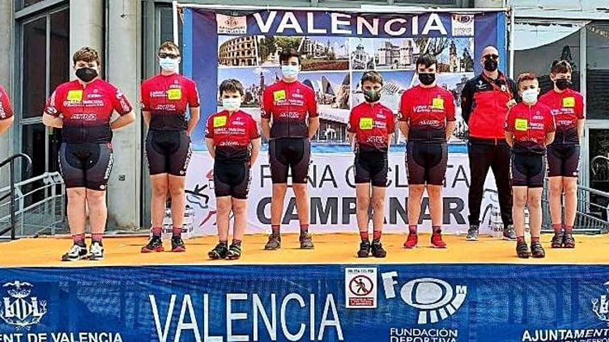 Aitor Arlandis sitúa a  La Valldigna en el podio