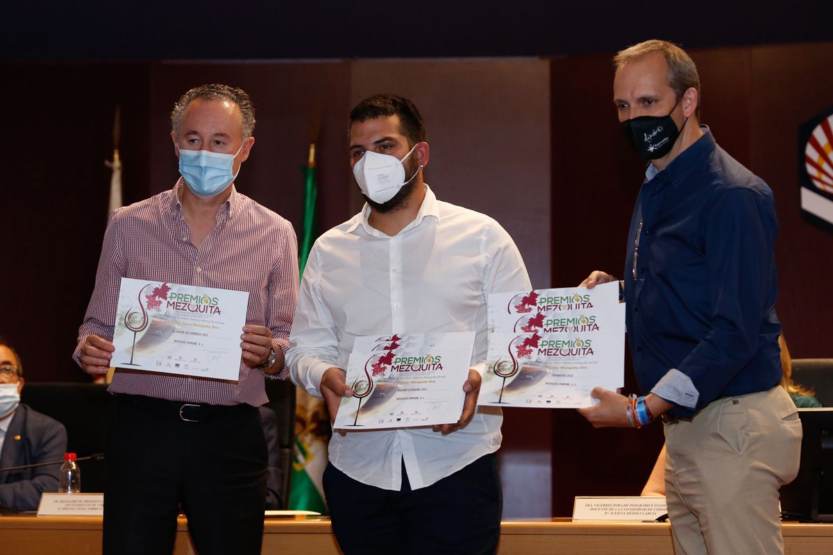 Entrega de galardones del XXVII Concurso Ibérico de Vinos Premios Mezquita