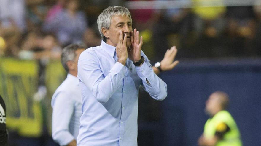 Tres partidos de sanción a Setién por su expulsión ante el Athletic