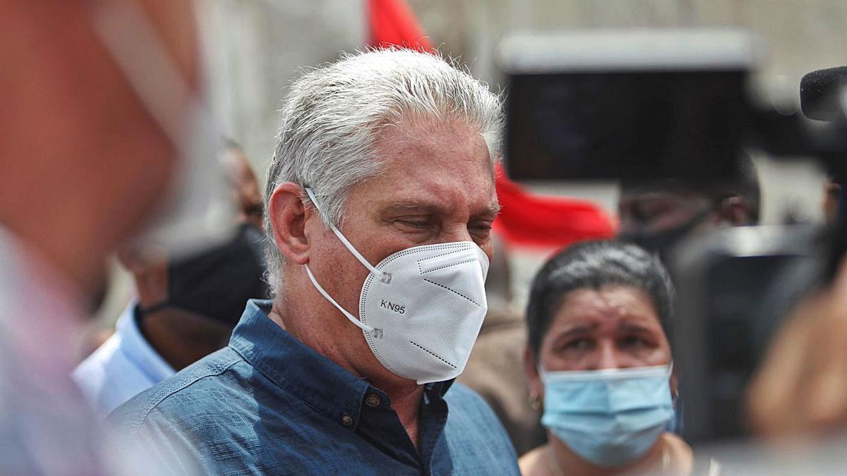 El president cubà, Miguel Díaz-Canel. | EFE