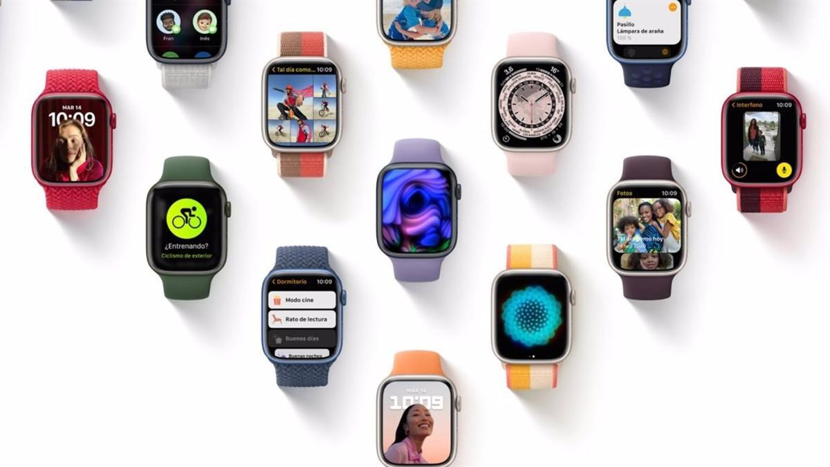 Apple presenta sus nuevos sistemas operativos para iPad, Apple Watch y televisores.