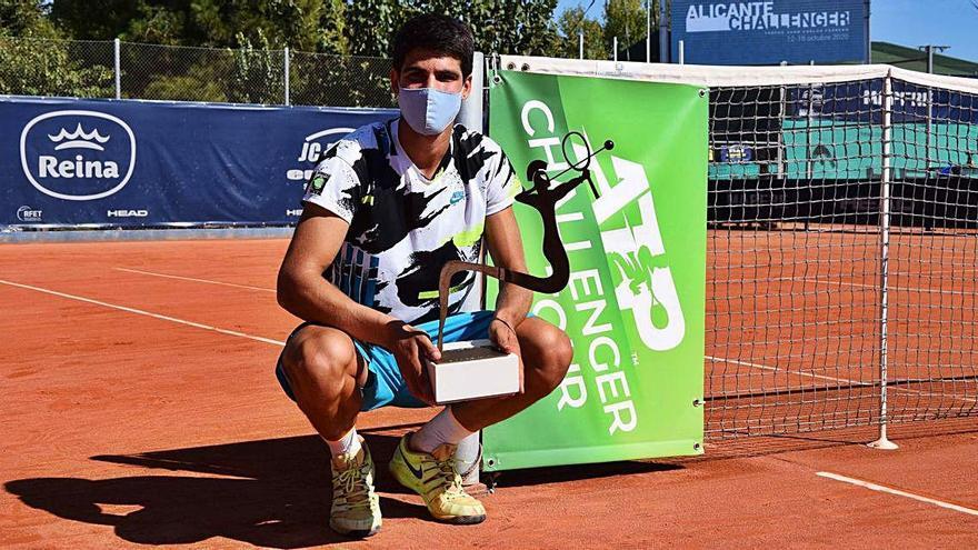 Carlos Alcaraz, el 'niño' insaciable