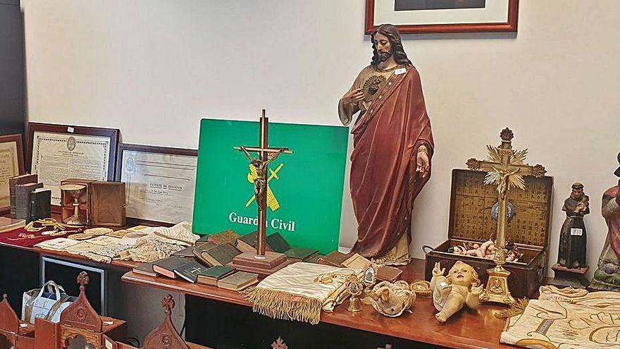 Un museo sacro en la casa del que fue sacristán de Vilanova