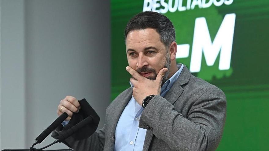 Vox no exige entrar en el Gobierno de Madrid y espera la propuesta de Díaz Ayuso