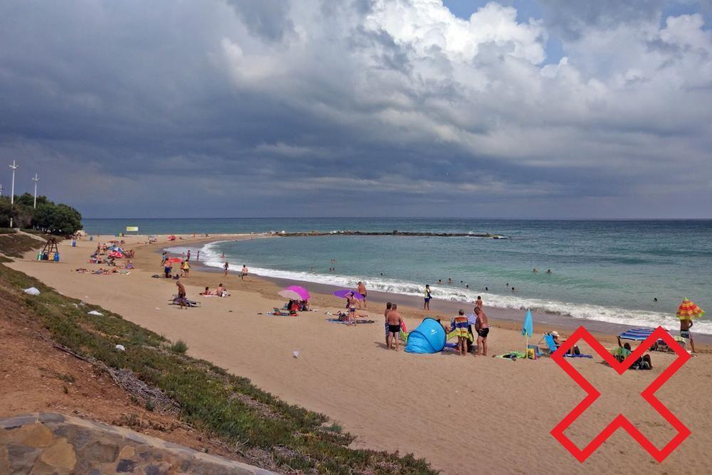 Playa Forti Fora-Forat. Vinaròs.