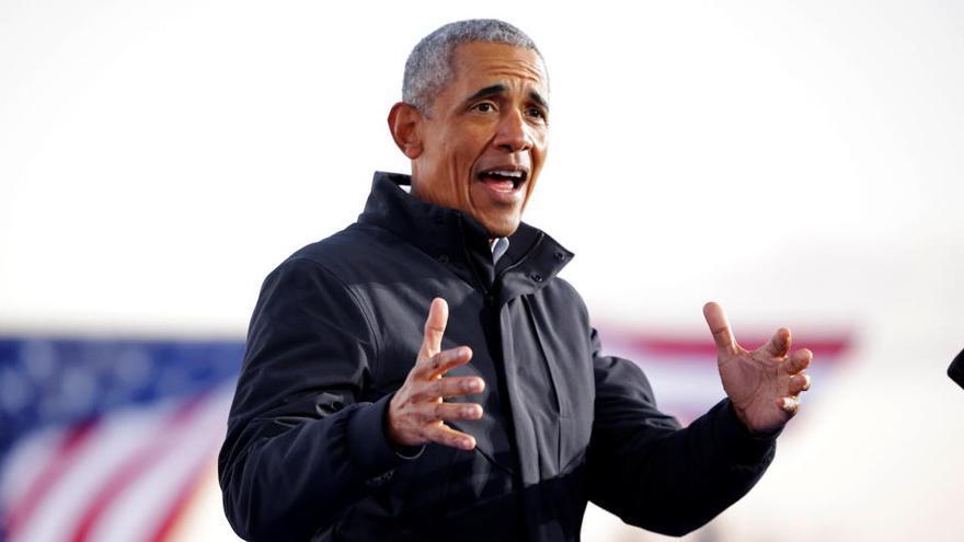 Barack Obama en boca de tots a les xarxes després d'efectuar un brutal triple