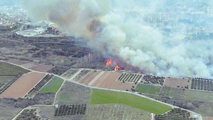 Riba-roja aprueba un plan para proteger del fuego 1.329 hectáreas