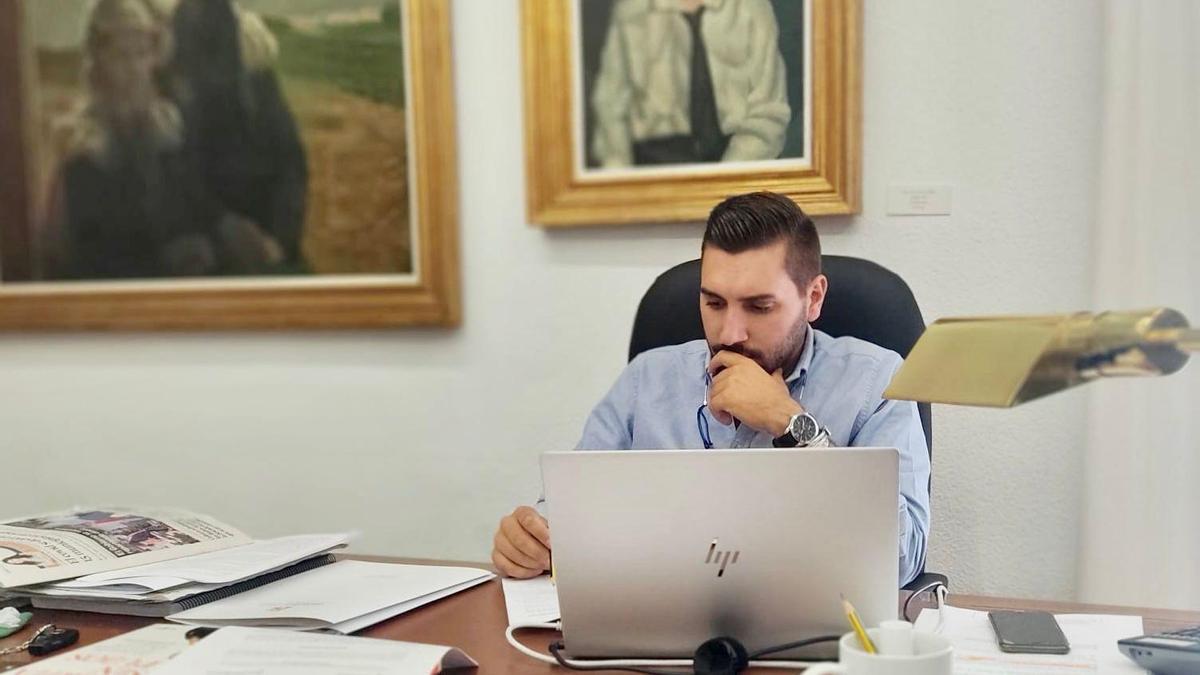 Miguel Castellano, portavoz de Ciudadanos en la Diputación de Córdoba.