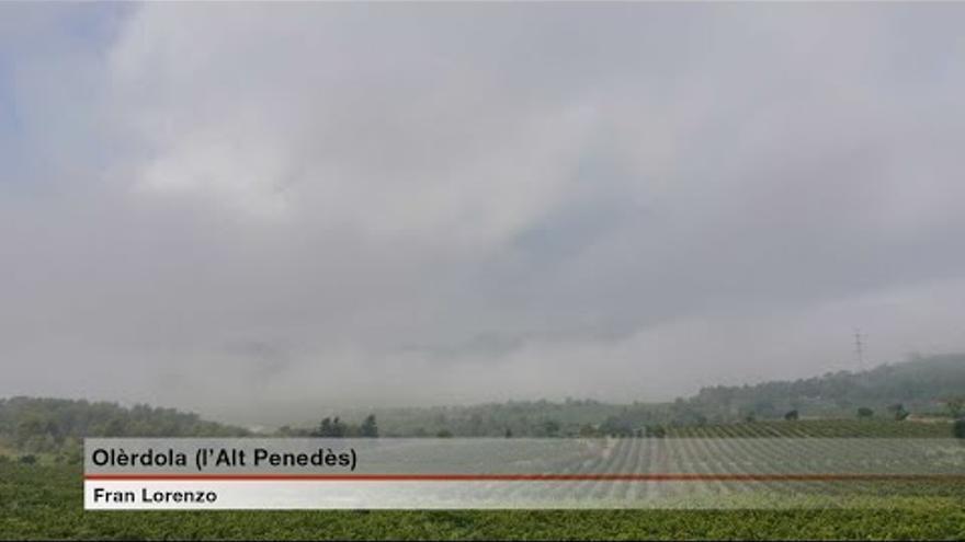 Dimarts amb baixada de temperatures i núvols arreu de Catalunya