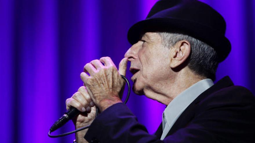 Leonard Cohen, a fuego lento