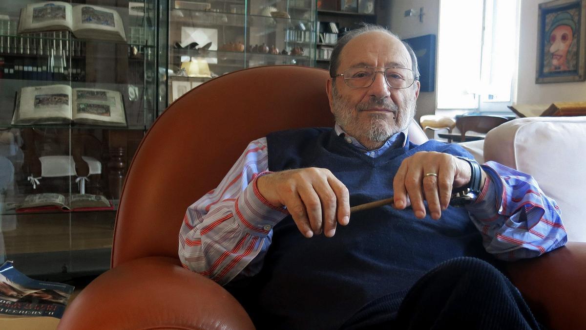 Umberto Eco falleció en 2016.