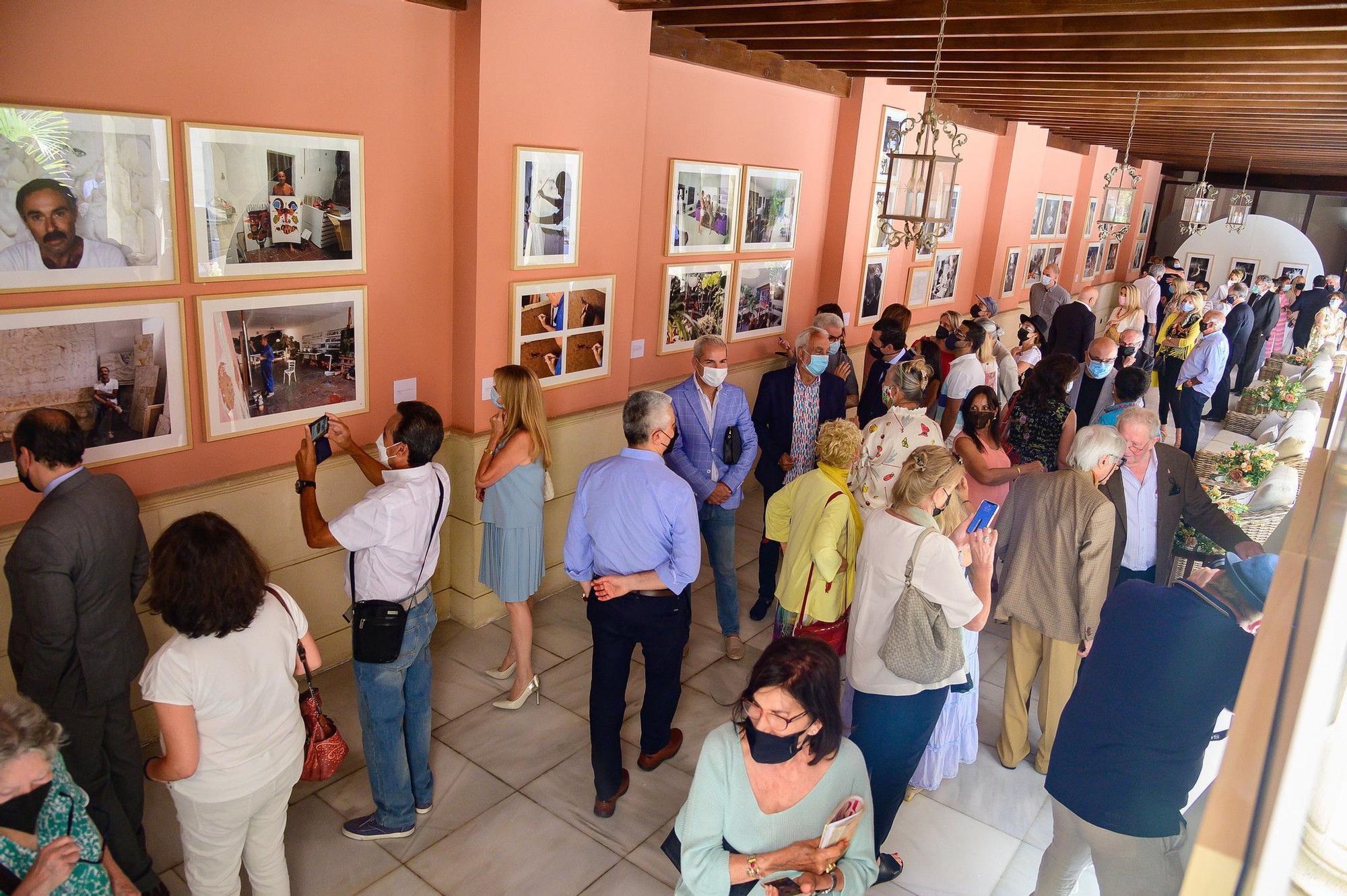 Inauguracion de la exposición 'Manrique inedito'