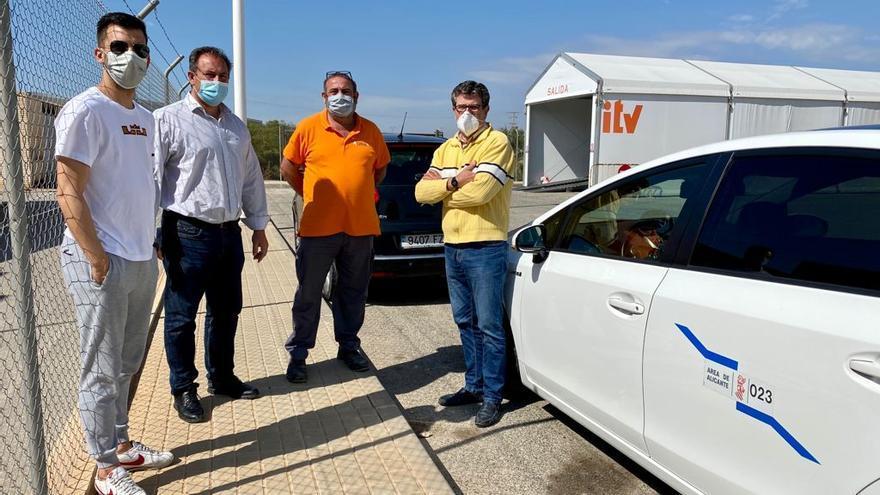 El Campello incorpora la revisión de taxis a su estación de ITV