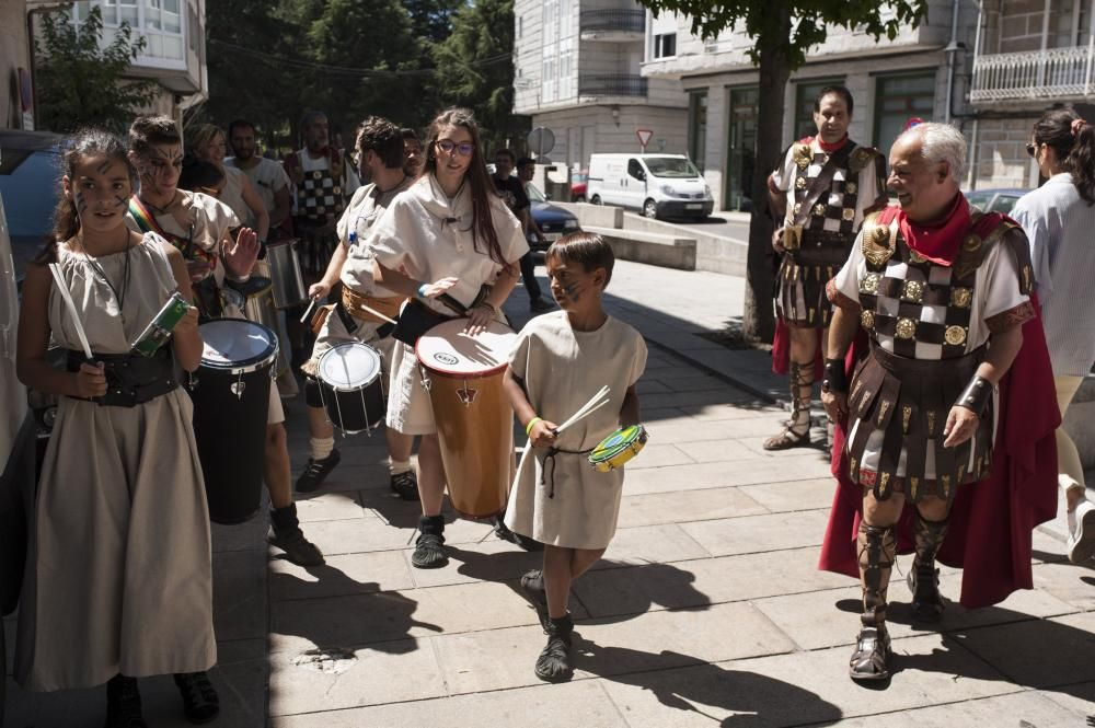 Mitología griega en el Esquecemento romano