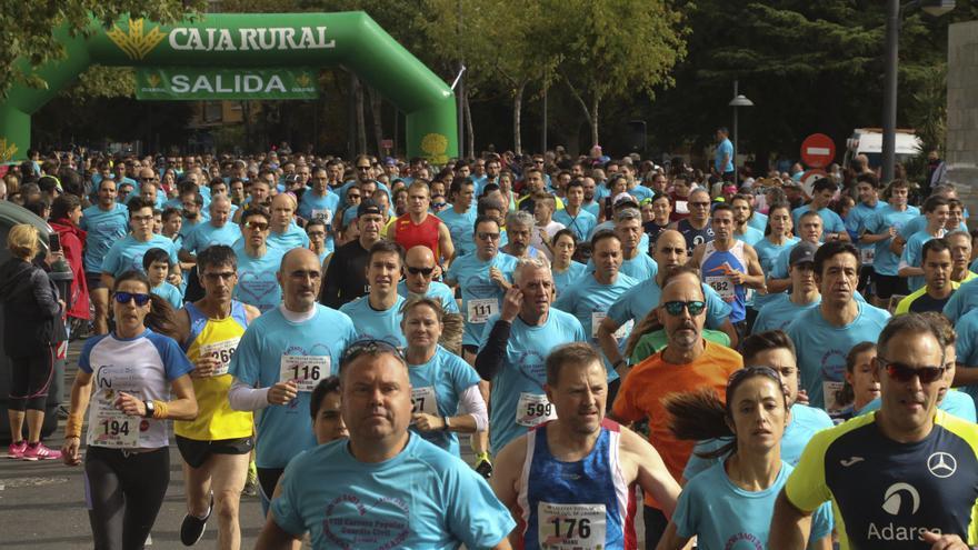 La Carrera de la Guardia Civil de Zamora cuenta ya con 2.500 inscritos