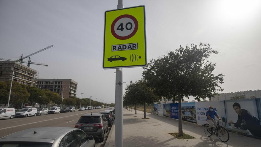 El ayuntamiento de Palma instalará cinco nuevos radares para controlar la velocidad a partir de enero