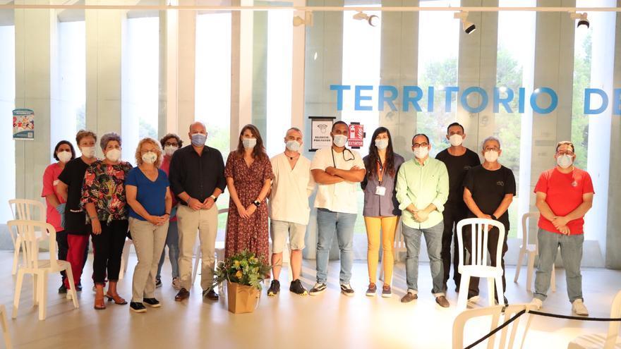 Cierra el vacunódromo del Auditorio de Teulada Moraira tras inyectar 20.700 dosis