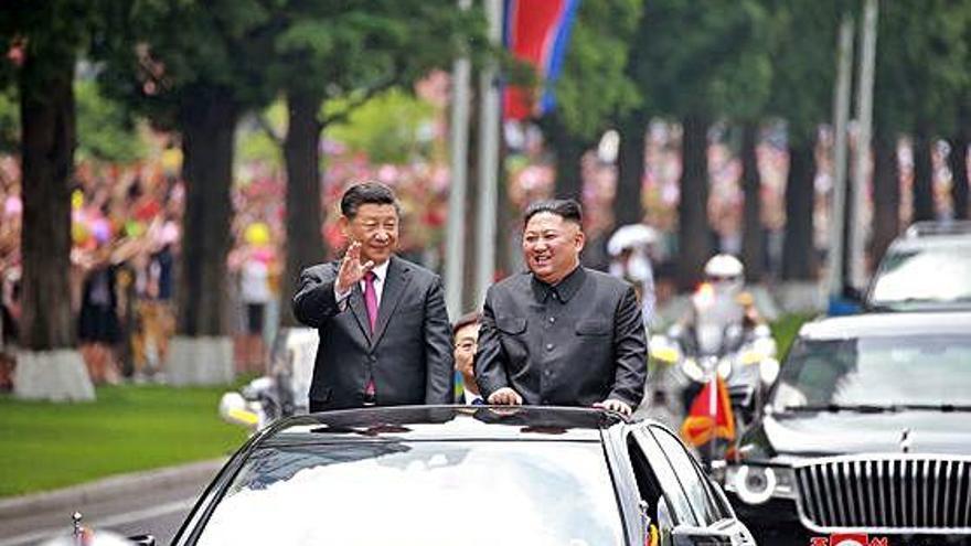 Cimera Corea del Nord i la Xina acorden enfortir les relacions bilaterals