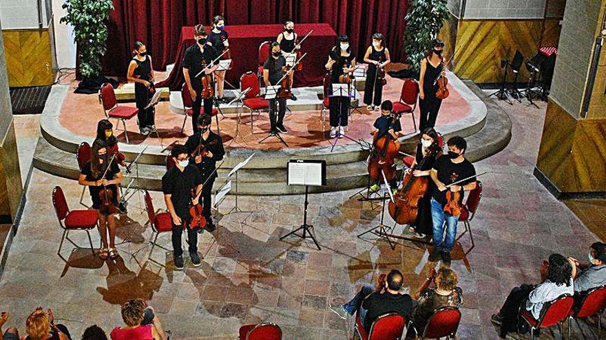 El Poble Vell de Súria acull els concerts de final de curs de l'Escola Municipal de Música
