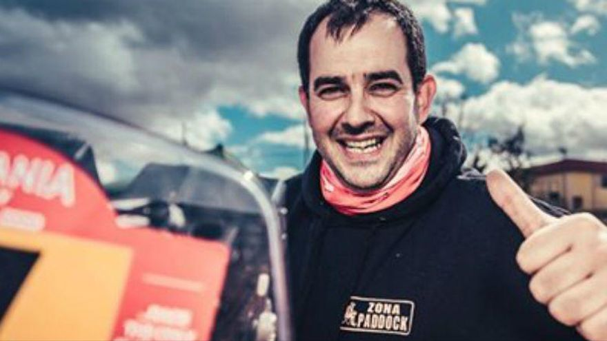 Muere en un accidente el piloto Alberto Martínez