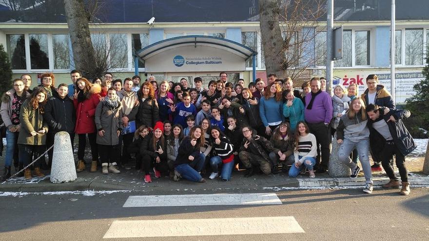 Joves de 3r d'ESO de l'Institut de Vilafant han participat en un projecte europeu a Polònia