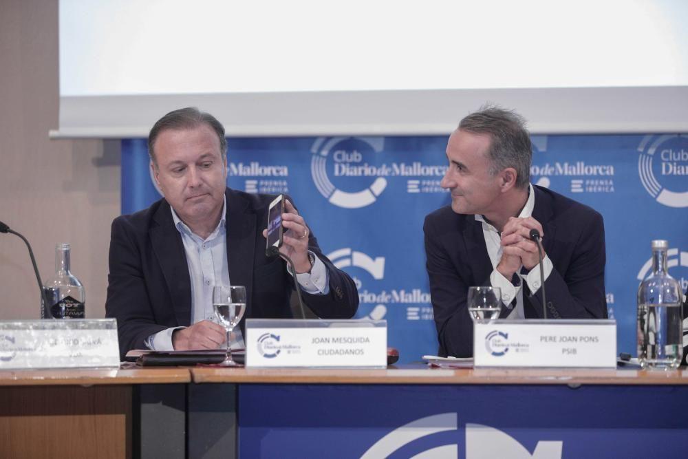 Debate en el Club DM con los candidatos al Congreso de los Diputados