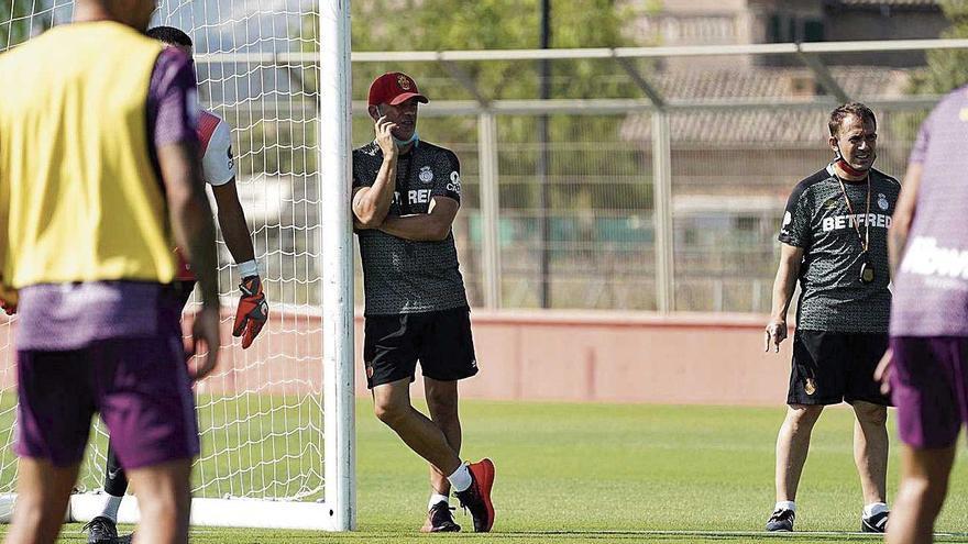 Vicente Moreno mide a su Real Mallorca