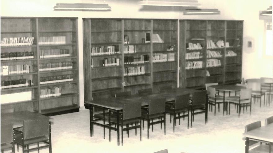 Así era la primera biblioteca de Crevillent hace casi un siglo