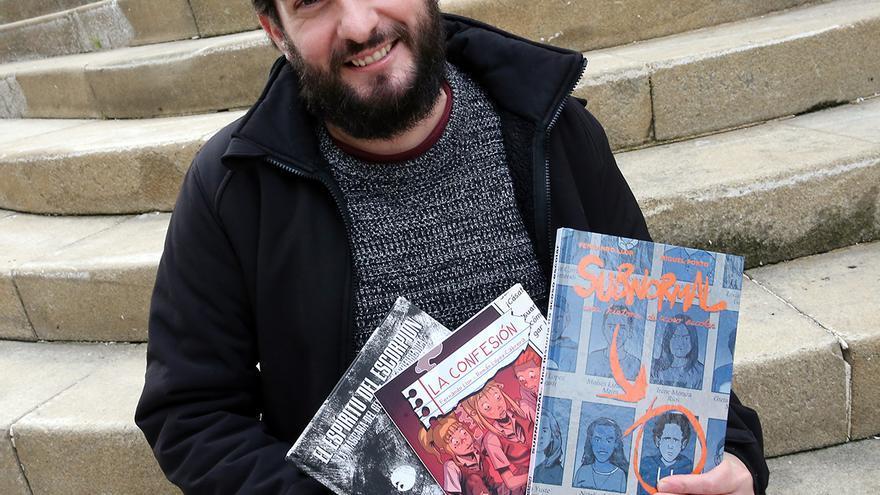 Premio para el vigués Fernando Llor por su cómic sobre acoso escolar