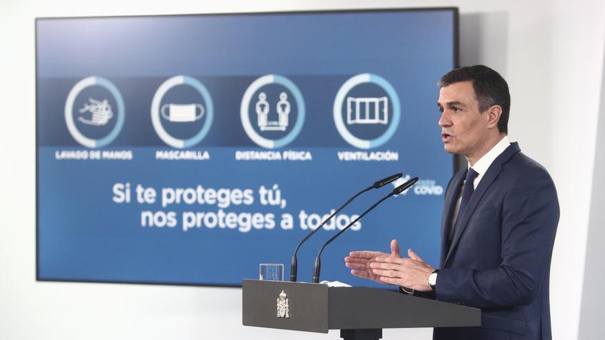 Sánchez prevé que haya 33 millones de españoles vacunados a finales de agosto