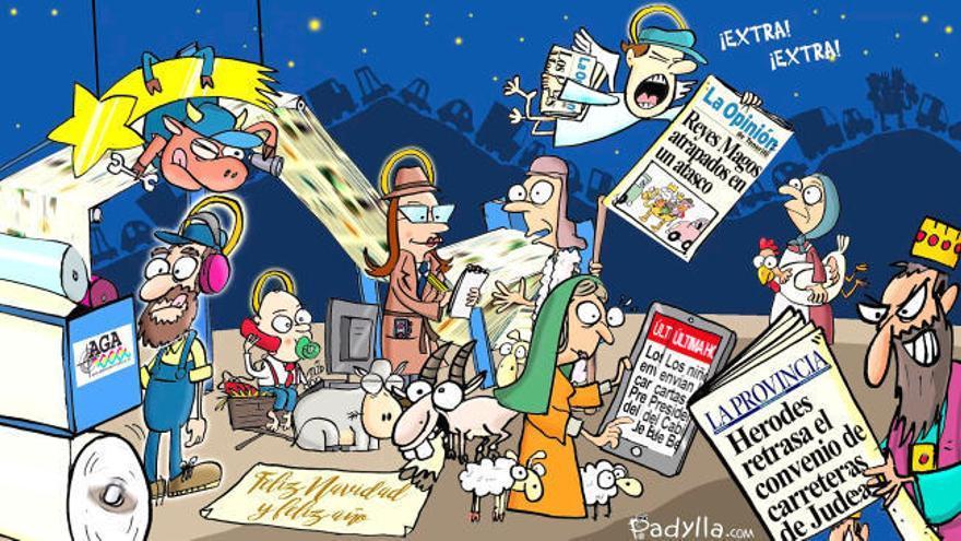 La Provincia les desea Feliz Navidad