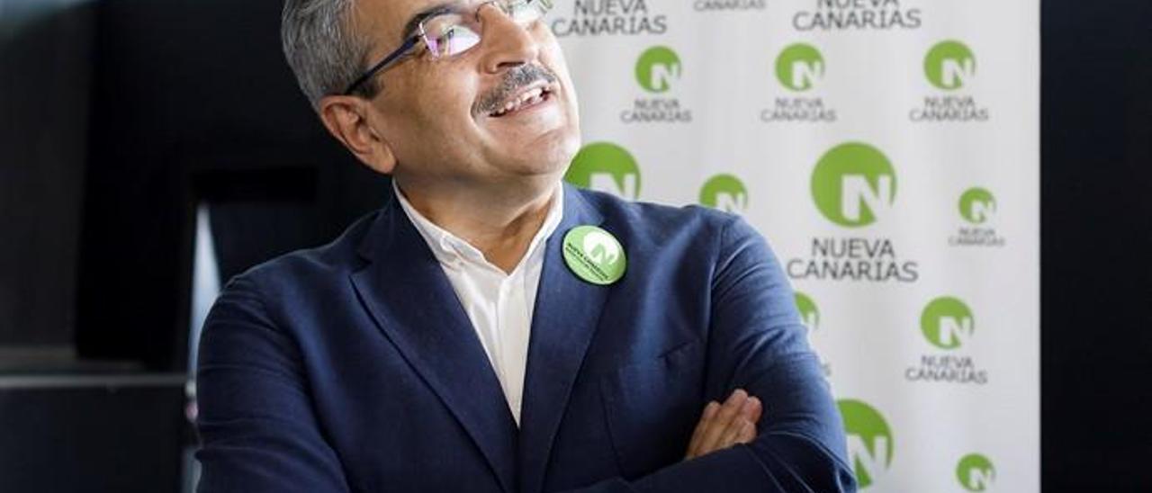 Acto de presentación de las candidaturas de Nueva Canarias