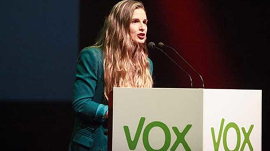 Malena Contestí exdiputada de Vox ficha por Ciudadanos