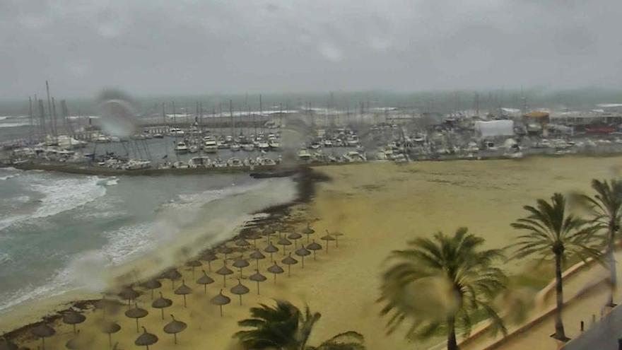 Wind, Wellen, Regen und sinkende Temperaturen auf Mallorca
