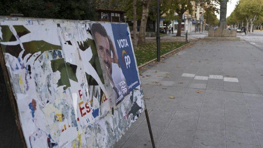 Carteles del Partido Popular.