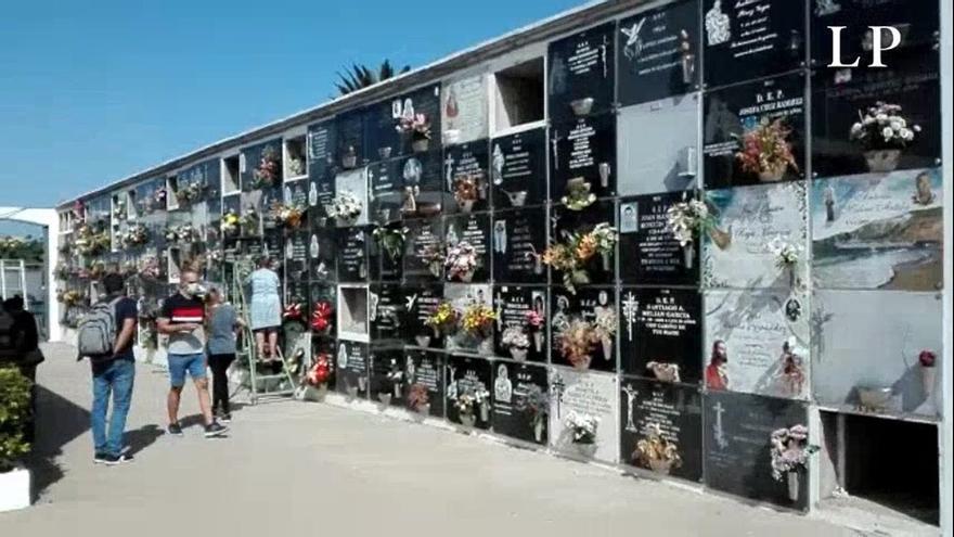 Los cementerios de Telde se preparan para el Día de Todos los Santos