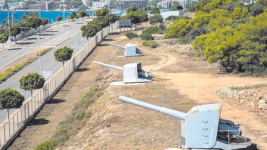 Un camino perimetral permitirá recorrer el exterior del castillo de San Carlos