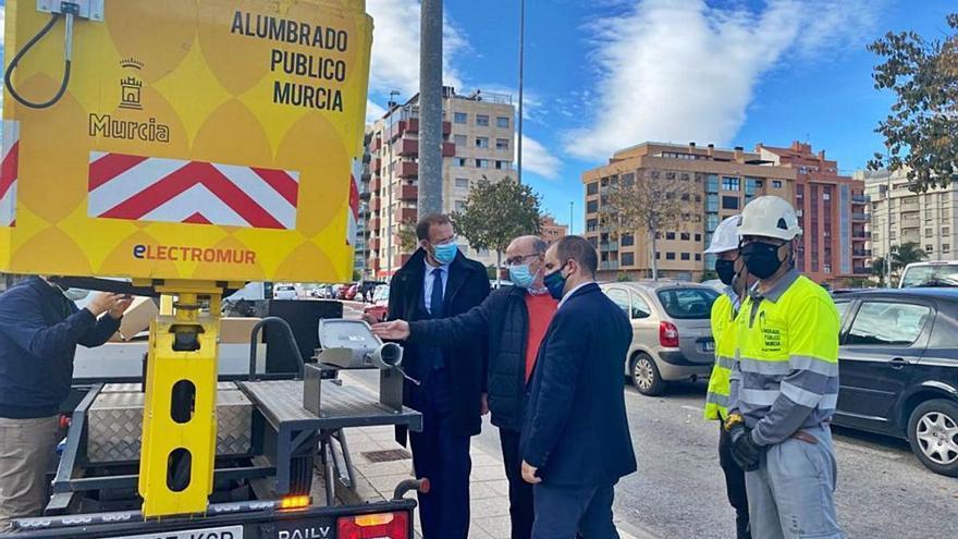 El alumbrado 'inteligente' llega a las pedanías de Murcia